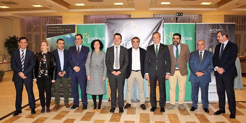 Eurocaja Rural respalda el acto de presentación de los nuevos 'Vinos Altovela'
