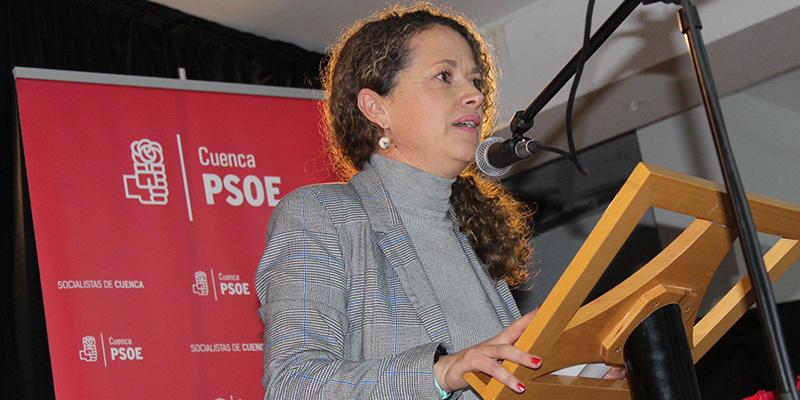 """Gracia Canales """"El PSOE está trabajando por desbloquear España"""""""