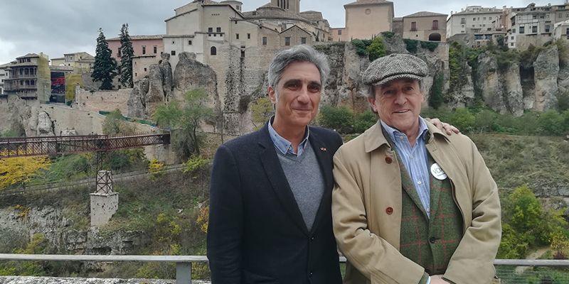 Hermann Tertsch visita Cuenca en apoyo de la candidatura de VOX