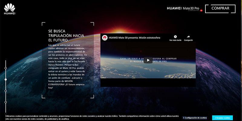 HUAWEI presenta Misión Estratosfera