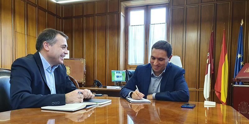 La Diputación de Cuenca y Consejería se reúnen para coordinar el próximo Plan de Empleo de la Junta que dará trabajo a 500 personas