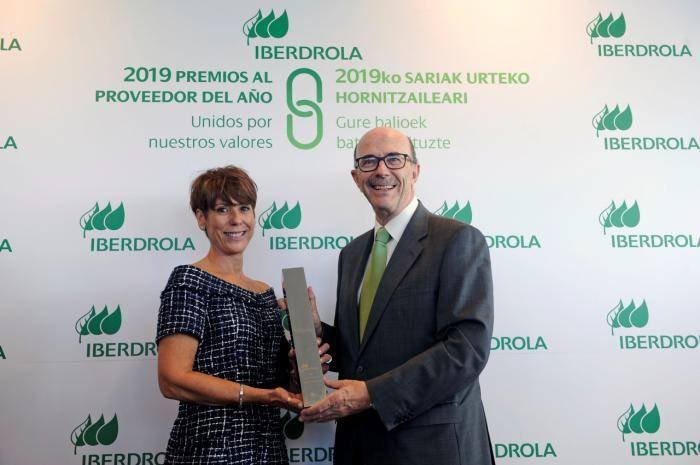 La empresa conquense Cyrasa Seguridad, premiada por Iberdrola como mejor provedor de servicios no energéticos