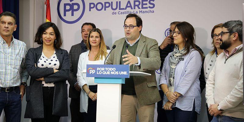 Núñez valora el buen resultado electoral en Castilla-La Mancha al obtener 22,000 votos más que en las pasadas elecciones de abril