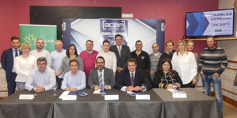 Pedro Martínez, elegido por aclamación como nuevo presidente de ACEM