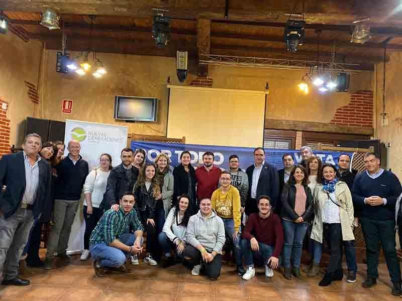 Prieto recalca la fuerza municipal del PP y a Pablo Casado como el único líder con un programa de gobierno responsable
