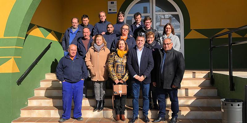 Un taller de empleo puesto en marcha por la Junta en El Herrumblar permite la contratación de diez personas