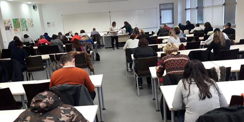 Un total de 1.585 personas se examinan de competencias clave en matemáticas y lengua castellana para acceder a los Certificados de Profesionalidad
