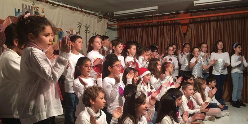 """Canto, baile y teatro protagonizan Festinavidad 19 en el CEIP """"San Fernando"""" de Cuenca"""