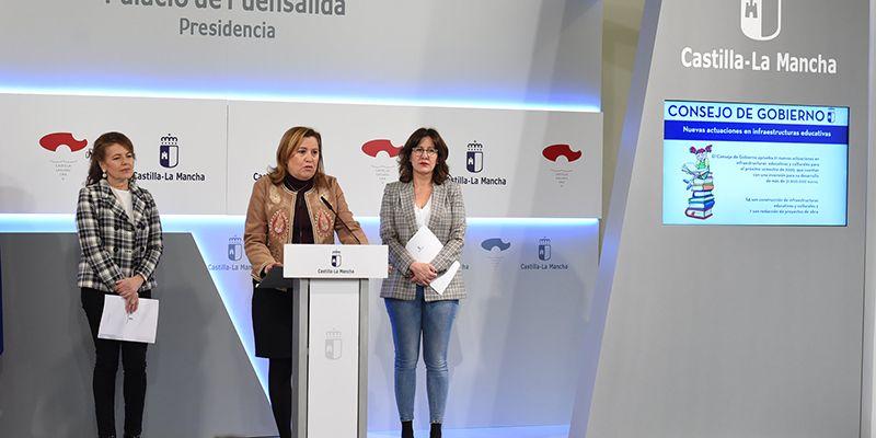 Destinados casi 32 millones de euros en la mejora y la construcción de nuevos espacios educativos y culturales con ocho actuaciones en Cuenca y Guadalajara