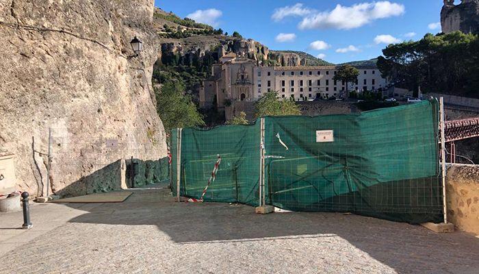 El Ayuntamiento de Cuenca abrirá parcialmente la calle Canónigos para facilitar el tránsito peatonal entre las Casas Colgadas y el Puente de San Pablo
