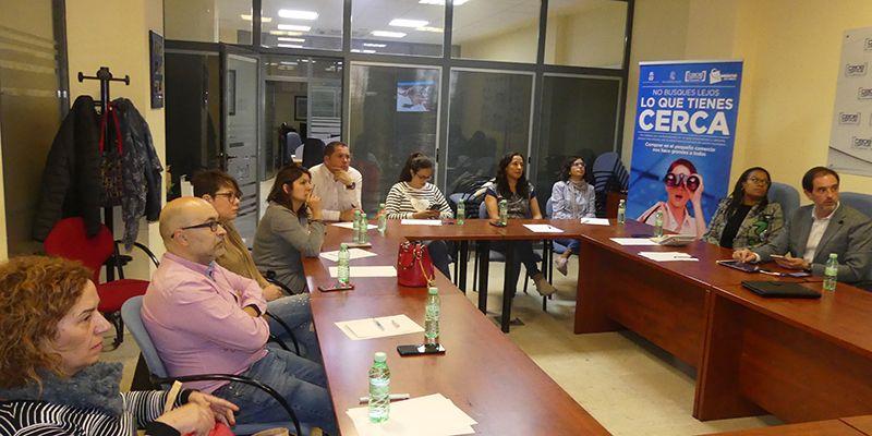 El Ayuntamiento de Cuenca presenta a la Asociación de Comercio las inversiones posibles con la estrategia DUSI
