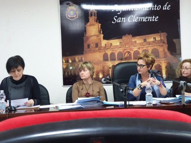 El Ayuntamiento de San Clemente aprueba en Pleno ordinario los Presupuestos 2020 que ascienden a 6,896 millones de euros.
