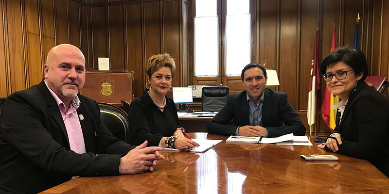 El Ayuntamiento de San Clemente y la Diputación trabajan en promoción turística, difusión, patrimonio, subvenciones y convenios a desarrollar en 2020 y el 2021