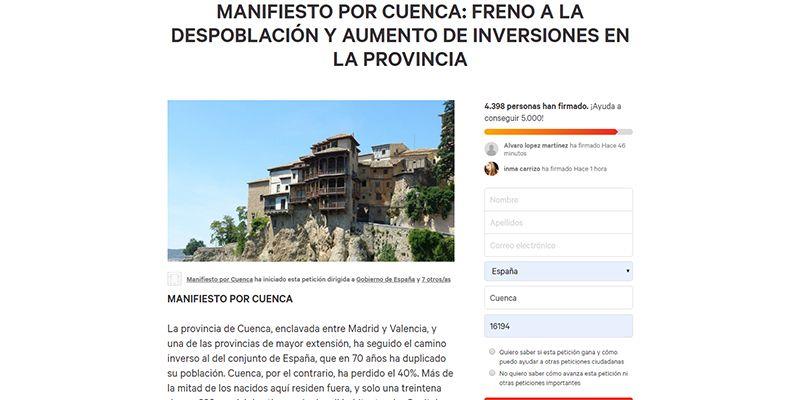 El Colegio de Telecomunicaciones de Castilla-La Mancha se suma al Manifiesto por Cuenca