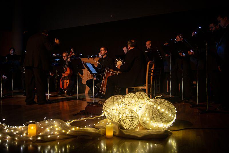 El Coro y Ensemble Alonso Lobo trajo la Navidad del Renacimiento al Teatro Auditorio de Cuenca