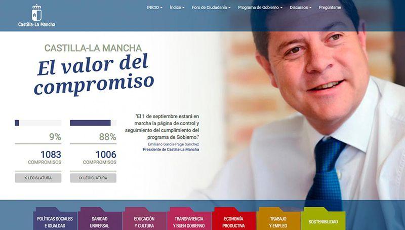 El Gobierno de Castilla-La Mancha avanza en el cumplimiento de los compromisos para esta X legislatura llegando al 9% de ejecución
