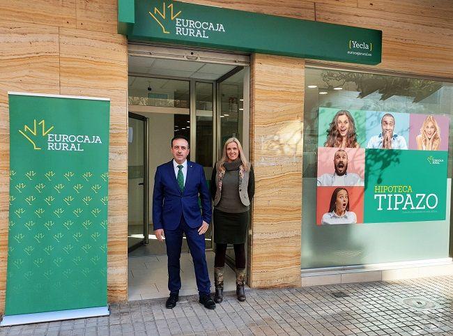 Eurocaja Rural suma la Región de Murcia a su Plan de Expansión, abriendo oficina en Yecla