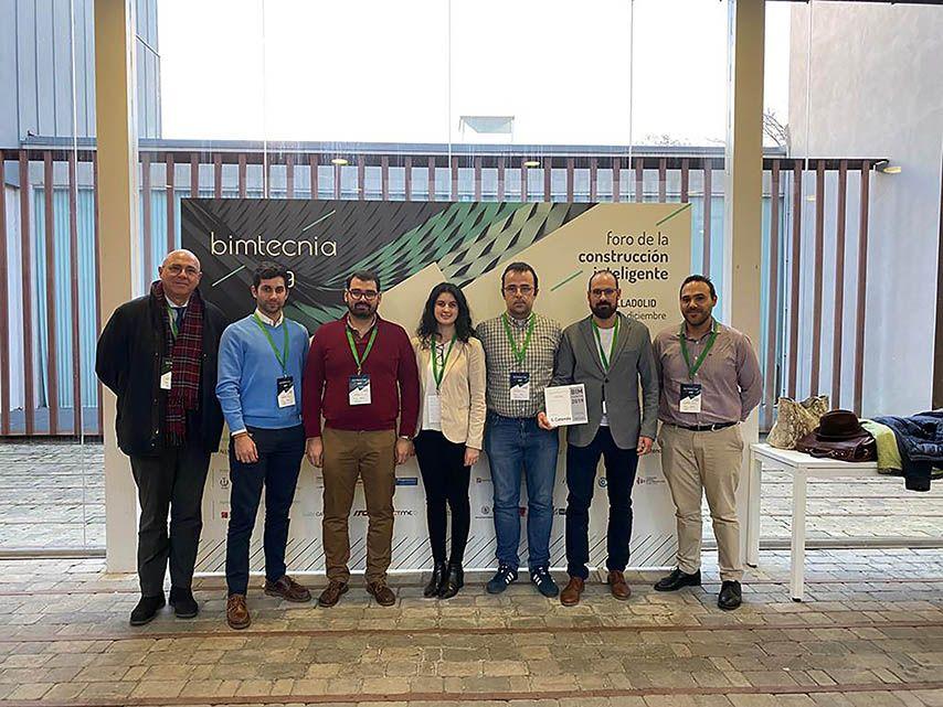 Investigadores de la UCLM logran el tercer premio del concurso internacional de modelado de información de la construcción