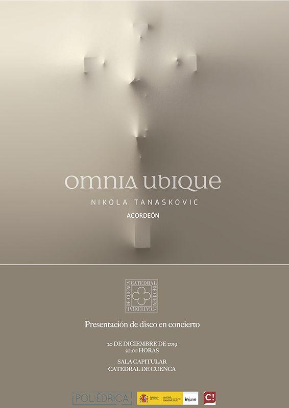 La bendición del Belén napolitano y la presentación del disco en concierto 'Omnia ubique', del acordeonista serbio Nikola Tanaskovic abrirán la Navidad en la Catedral de Cuenca