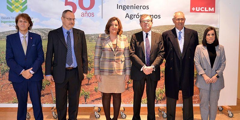 La Escuela Técnica Superior de Ingenieros Agrónomos de la UCLM cumple 50 años reivindicando su necesidad de permanencia en el futuro