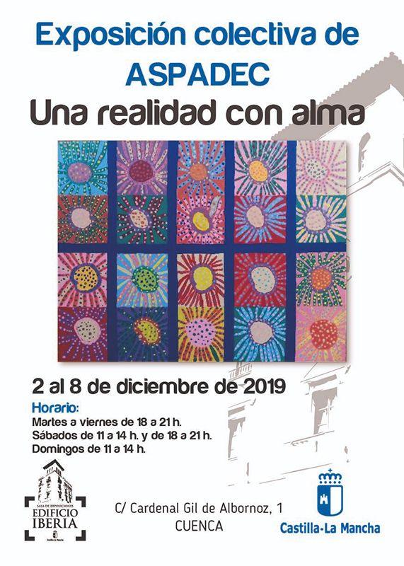 La Sala Ibera acoge hasta el domingo 8 de diciembre la exposición ´Una realidad con alma´ de ASPADEC