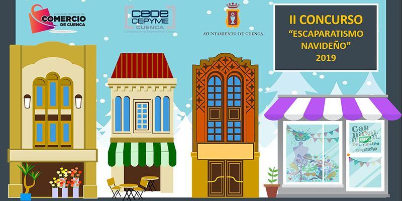 Los conquenses ya pueden votar en Factbook por el mejor escaparate navideño de la ciudad