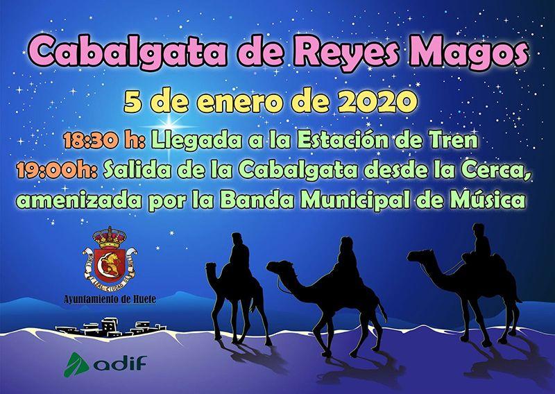 Los Reyes Magos eligen el tren para llegar a Huete por décimo año consecutivo