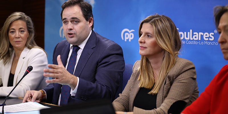 Núñez muestra su satisfacción por el gran trabajo del PP-CLM en 2019 y espera que Page vuelva a la senda del diálogo y se centre en los problemas de la región