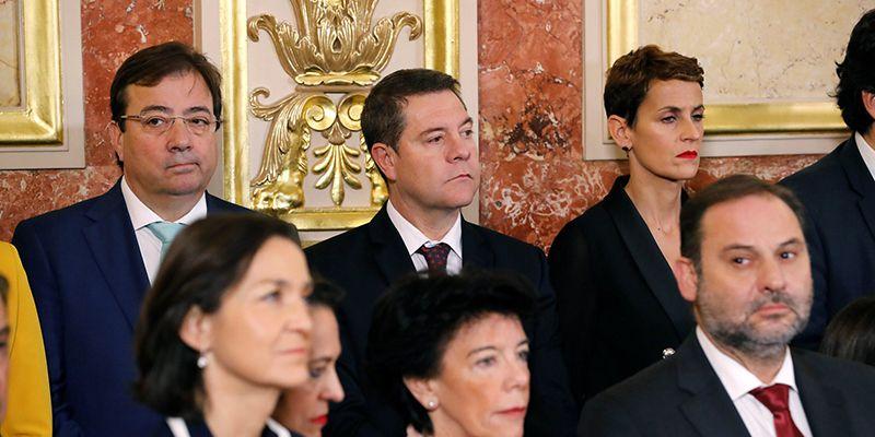 """García-Page: """"La Constitución está por encima de los gobiernos, de los partidos y de la política política"""""""