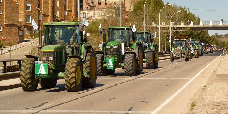 ASAJA, COAG y UPA lanzan un proceso de movilizaciones en toda España