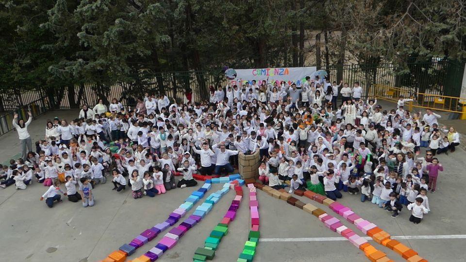 El CEIP Santa Ana de Cuenca, por un mundo en paz lleno de colores