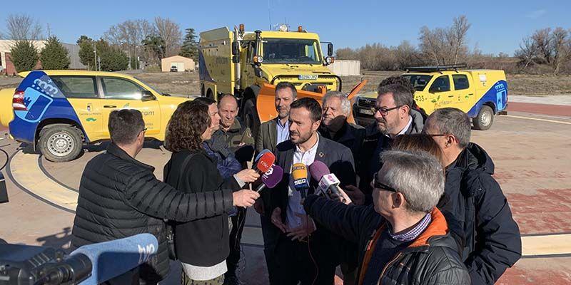 El Gobierno regional aumenta su presupuesto en medios aéreos y maquinaria pesada en 600.000 mil euros para la campaña de incendios forestales