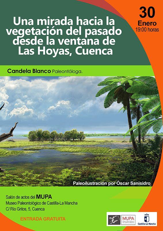 El Museo de Paleontología de Castilla-La Mancha acoge la charla ´Una mirada hacia la vegetación del pasado desde la ventana de Las Hoyas´