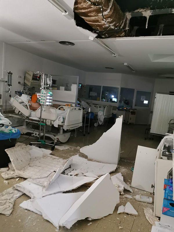 El PP de Cuenca puntualiza que en el desprendimiento del techo de la UCI sí hubo peligro para pacientes y que no fue en un pasillo