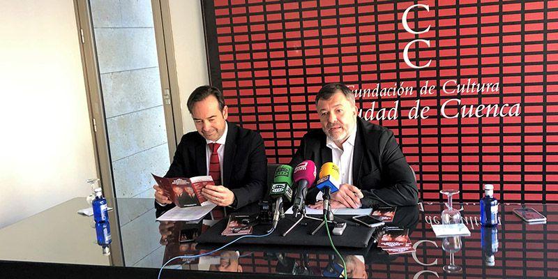 Emilio Gutiérrez Caba y Carlos Hipólito con 'Copenhage' o Quique González cantando a Luis García Montero, propuestas del Auditorio de Cuenca