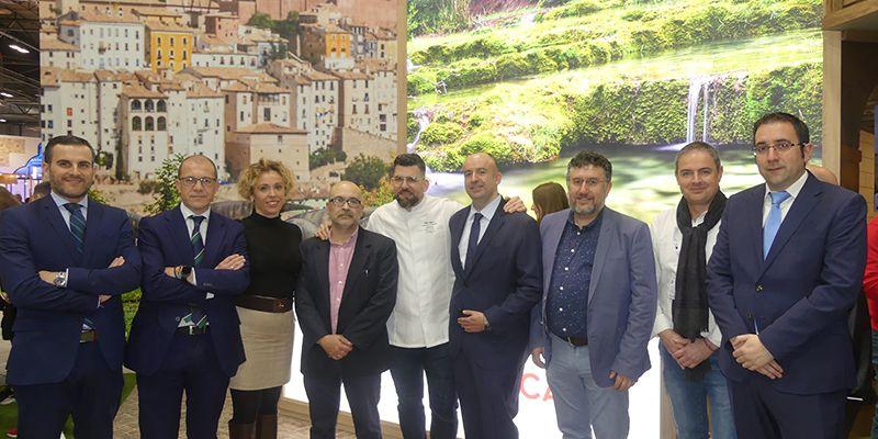 HC, Agrupación de Hostelería y CEOE-Cepyme Cuenca respaldan al sector del turismo en Fitur 2020
