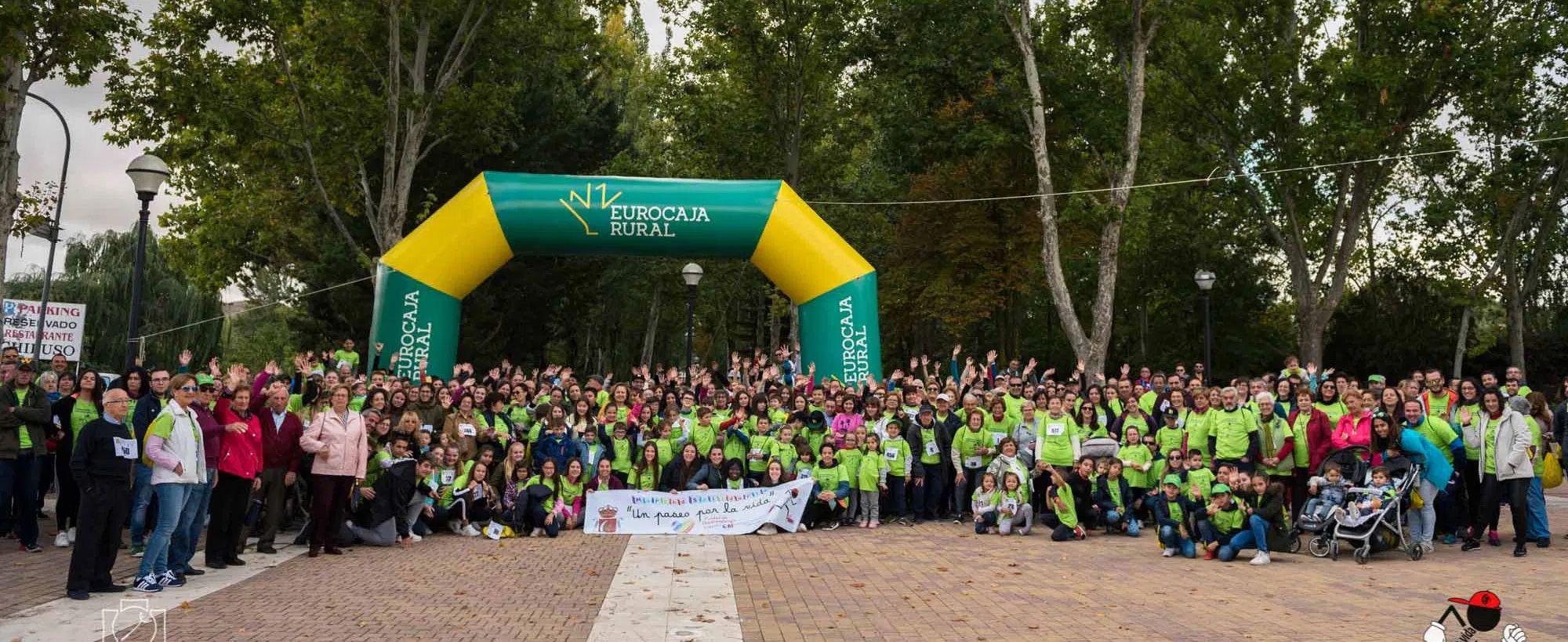 Huete recauda 12.683 € en la III Marcha Solidaria contra el cáncer