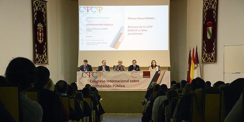 Los desafíos de la aplicación de la Ley 92017, objeto de análisis en el Congreso sobre Contratación Pública que acoge la UCLM
