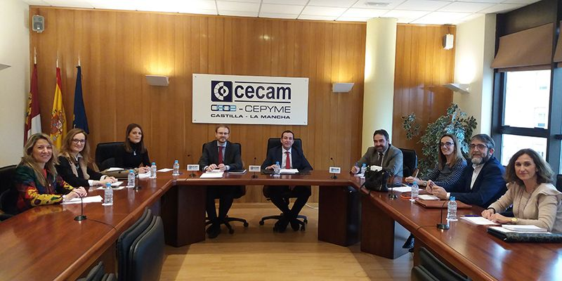 CECAM asesoró en 2019 a casi un millar de empresas de la región sobre prevención de riesgos laborales