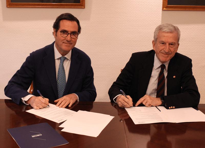 CEOE-Cepyme Cuenca destaca el acuerdo entre la patronal conquense y Cáritas para impulsar los fines sociales