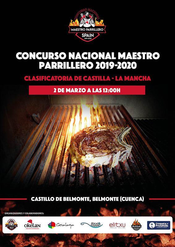 El castillo de Belmonte acogerá este lunes la clasificatoria de Castilla la Mancha del prestigioso Concurso Nacional Maestro Parrillero
