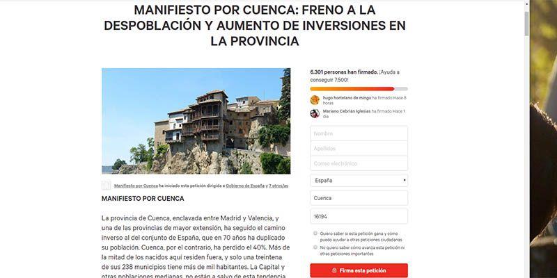 El Colegio de Arquitectos de Castilla La Mancha se adhiere al Manifiesto por Cuenca