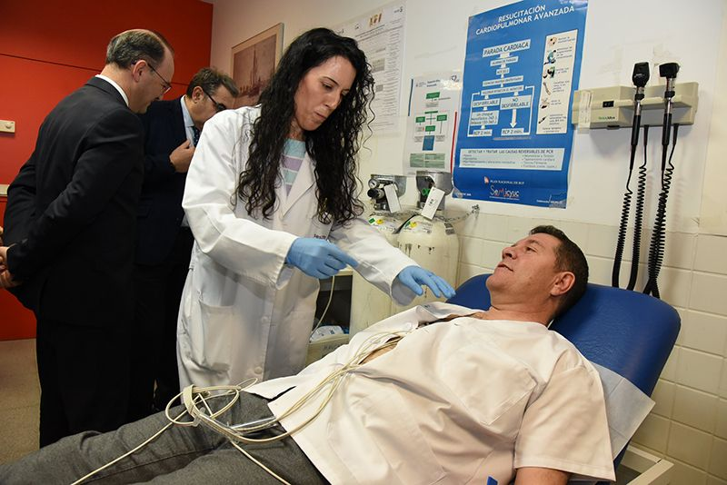 El Gobierno de Castilla-La Mancha pone en marcha el programa de electrocardiografía digital más ambicioso e innovador de todo el país