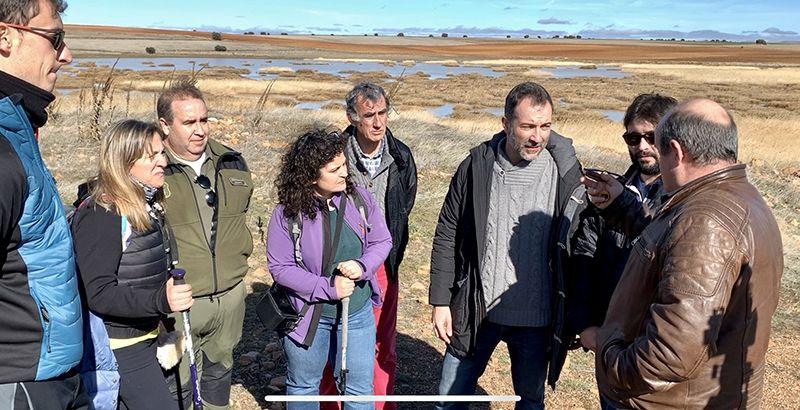 El Gobierno de Castilla-La Mancha reivindica el valor de los humedales y la necesidad de la colaboración de todos para mantener su biodiversidad