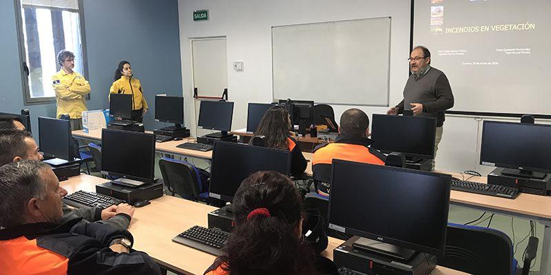 El Gobierno regional forma en Cuenca a 24 voluntarios en materia de extinción de incendios en vegetación