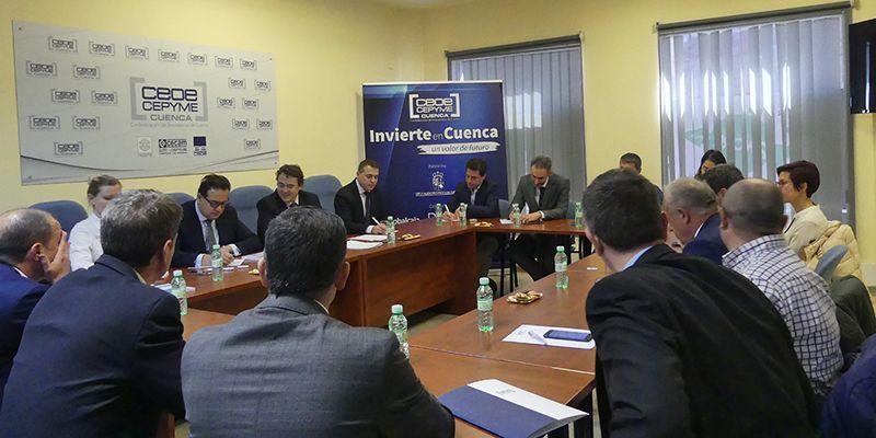 El presidente de la Alianza de Comercio Euroasiática visita Cuenca de la mano de Invierte en Cuenca
