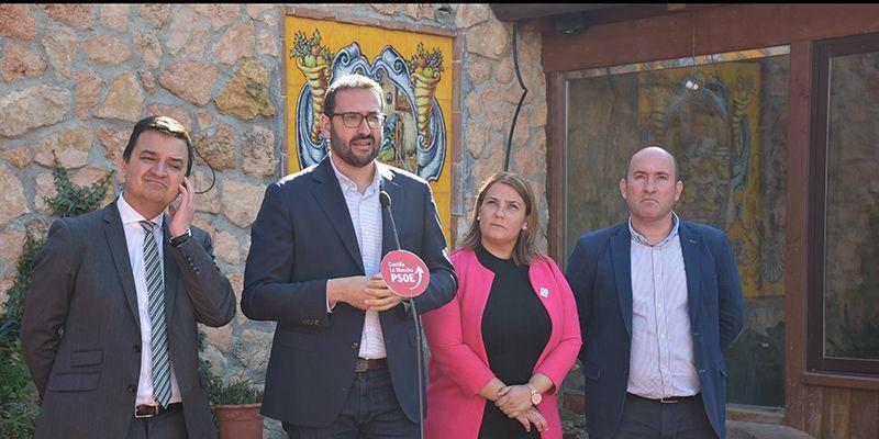"""Gutiérrez destaca que CLM """"va ganando poco a poco la batalla del agua"""", pese """"a las zancadillas de Cospedal y Núñez"""""""