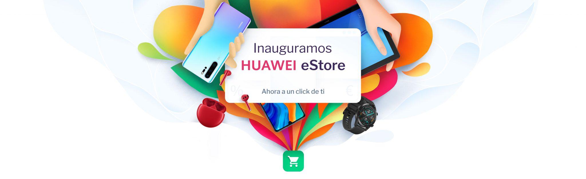 Huawei abrirá su tienda online en España el 2 de marzo