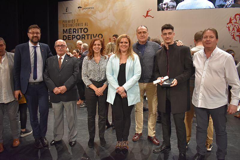 """López Carrizo destaca la """"buena salud"""" del deporte taranconero que lleva al éxito nacional e internacional"""