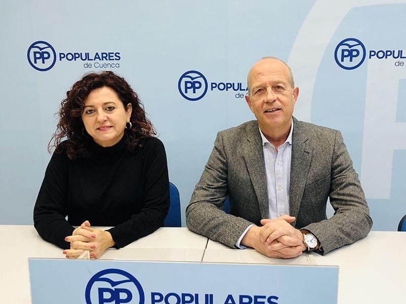 Los senadores por Cuenca del PP critican que las principales 'acciones' del Gobierno de Sánchez en Cuenca sean más paro y el desprecio a los agricultores